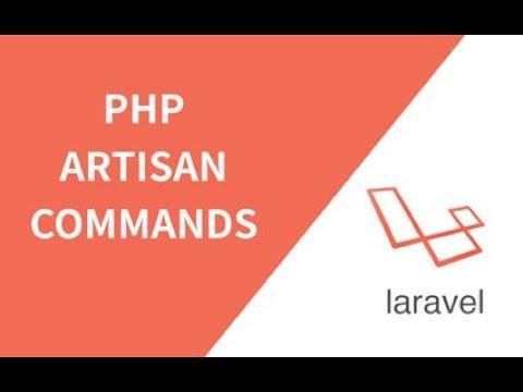 Cách Tạo command artisan  trong laravel