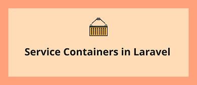 Service container Laravel